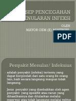 Konsep Pencegahan Dan Penularan Infeksi