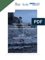 MSAGW15 Modulhandbuch PDF