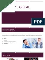 Sx Gripal y Rinitis