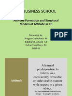 Attitude Formation and Structutal Models - Copy