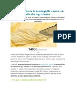 Aprende a hacer tu mantequilla casera con sólo dos ingredientes.docx