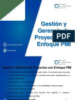 01. Clase Gestión y Gerencia de Proyectos Con Enfoque PMI