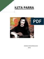 Violeta Parra Nació en Calle Roble De