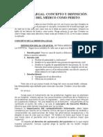 ML 1-Concepto Medico Como Perito