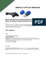 Conectar DualShock 3 Al PC Por Bluetooth