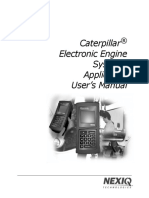 Uso de Pro-Link Graphic en Motores Caterpillar