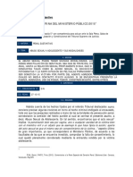 Doctrina Del Ministerio Público Del Año 2015