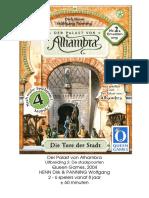 Alhambra Erweiterung DE 2 Die Tuere der Stadt