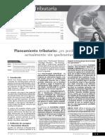 Planeamiento tributario ¿es posible realizarlo actualmente sin quebrantar las normas.pdf