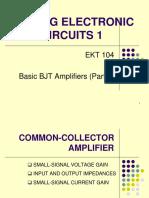 Chptr 1 - Basic BJT Amplifier (III)