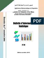 MIDIPI 2016 Bulletin d'Information Statistique