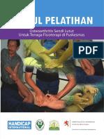 342864128 Modul Pelatihan Osteoarthritis Sendi Lutut Untuk Tenaga Fisioterapi Di 0puskesmas