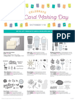 World Cardmaking Day Flyer from Stampin' Up!
