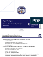 PFM Presentation to Burlingame City Council for 2-29-16