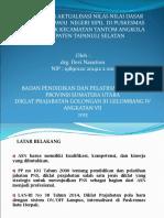 Drg Devi Nasution aktualisasi 8 Sept