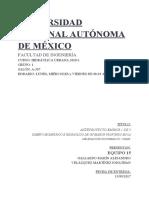 Proyecto emisor pluvial xochimilco 1/3