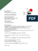 Figurative Language Sample