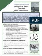 Responsible Angler Brochure