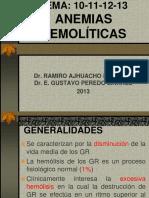 ANEMIAS HEMOLÍTICAS (10-11-12-13)