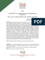 O uso do acido fólico na prevenção de Defeitos no Fechamento do Tubo Neural