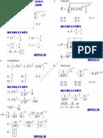 Algebra Cap 1 Teoria de Exponentes