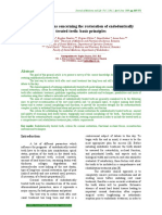Current opinions concerning the restoration of endodontically treated teeth. Basic principles.pdf