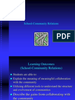 School Community Relations