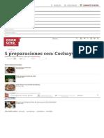 5 Preparaciones Con_ Cochayuyo - Cookcina