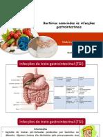 Bactérias Associadas Às Infecções Gastrointestinais
