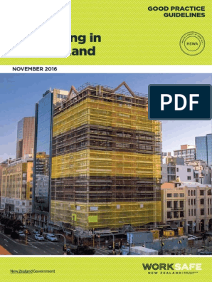 Scaffolding 1 Scaffolding Occupational Safety And Health Before rules are finalized, the occ publishes them in the federal register for comment. scribd