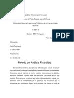 Metodo de Estado Financiera