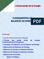 Fund. Balances de Energia(1)