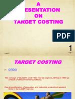 Target Costs