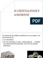 2.- SOLIDOS CRISTALINOS