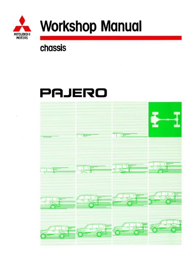 2000 MITSUBISHI MONTERO PAJERO Service Repair Manual.pdf | Manual  Transmission | Electrical Connector