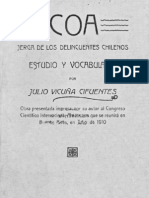 Coa - Jerga de Los Delincuentes Chilenos