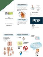 Leaflet Arthritis Gout