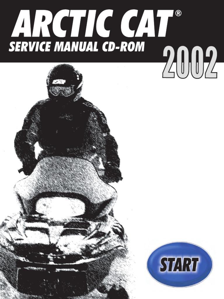2002 Arctic Cat Bearcat Widetrack SNOWMOBILE Service Repair Manual.pdf |  Gasoline | Belt (Mechanical)