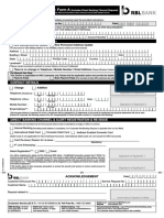 Customer Maintenance Form A
