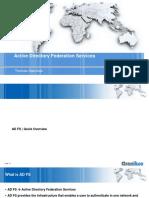 Adfs Workshop 1 Quickoverview 170304113945