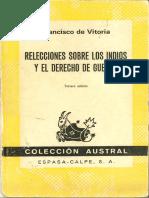 Vitoria- Relectio de Indis.pdf