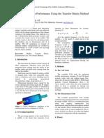 Analyzing Muffler Performance Using the Transfer Matrix Method