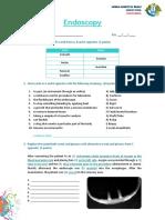 Endoscopy Exam
