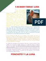 Biografía de Mario Vargas Llosa