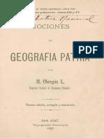 Nociones Geografia de Costa Rica