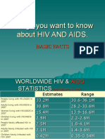 Things You Want to Know About HIV And