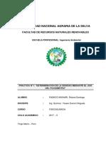 Determinacion de La Densidad Del Agua Mediante El Uso Del Picnómetro