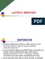 Astmul Bronsic Conf. Dr. Ioana Alexa