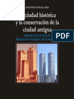 Antonio Naval Mas - La ciudad histórica y la conservación de la ciudad antigua.pdf