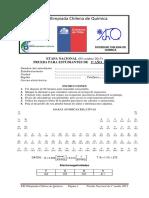 Olimpíada chilena de química 2013- 3ro Medio Nacional